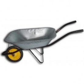 Тачка садовая BudMonster в/п-180 кг 1-но литое колесо