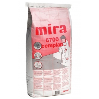 Самовыравнивающаяся смесь Mira 6700 cemplan 25 кг
