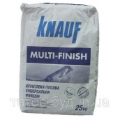 Шпаклевка Мультифиниш Knauf 25 кг