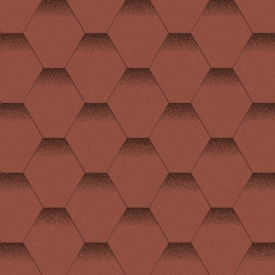 Битумная черепица Aquaizol Мозаика 320х1000 мм Красный мак