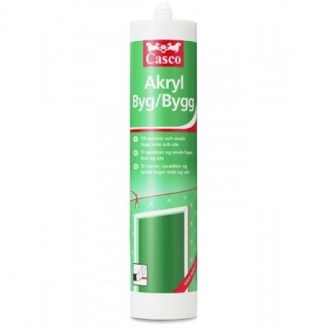 Герметик CASCO Akryl Bygg 300 ml