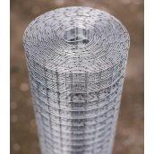 Сетка сварная оцинкованная Сетка Запад 12,5х12,5х0,7 мм 1,0х30 м