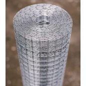 Сетка сварная оцинкованная Сетка Запад 20х20х1,4 мм 1,0х30 м