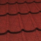 Композитная металлочерепица Gerard Diamant 1335x440 мм spanish red