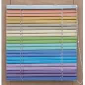Горизонтальні алюмінієві жалюзі кольорові 25 мм