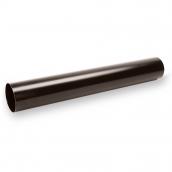 Водостічна труба Galeco STAL120 90 мм 3 м (SS090-RU300-G) (RAL8019/темно-коричневий RR32)