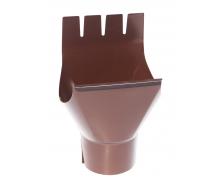 Воронка Акведук Премиум 125/87 коричневый RAL 8017