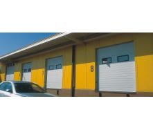 Промислові секційні ворота KRUZIK Base + з автоматикою 4000х3500 мм