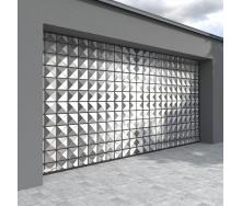 Гаражні секційні ворота KRUZIK Flat 2800х2600 мм Dura Print Unico 10