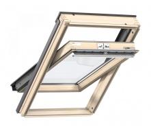 Мансардне вікно VELUX СТАНДАРТ GZL 1051 CK04 дерев'яне 550х980 мм