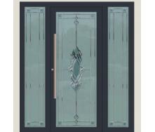 Алюмінієві фасадні двері m-1168-1