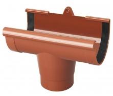 Воронка желоба Rainway 130/100 мм кирпичная