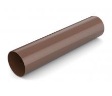 Водосточная труба Bryza 75 63 мм 3 м коричневый