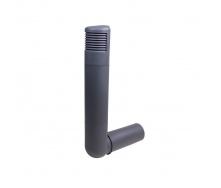 Цокольный дефлектор VILPE ROSS 160 мм серый