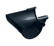 Внутренний угол 135° Galeco PVC130 130 мм (RE130-LW135-Х) (RAL7021/черно-серый)