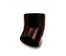 Колено 45° Galeco SP100 100 мм (SP100-KO045-P) (RAL8017/шоколадный)