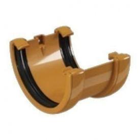 Соединитель желоба Devorex 120 мм