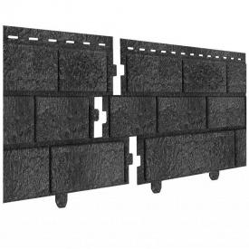 Фасадная панель Ю-ПЛАСТ Стоун-Хаус 3,025 м кирпич графитовый