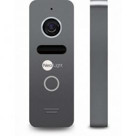 Виклична панель Neolight Solo Graphite 48x133x15,5 мм