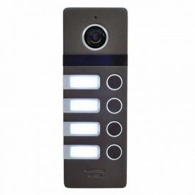 Виклична панель Neolight MEGA/4 54x157x18 мм