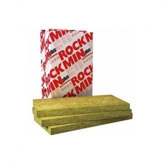 Плита из каменной ваты ROCKWOOL ROCKMIN PLUS 1000*600*50 мм