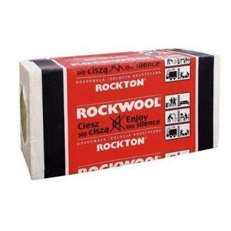 Плита из каменной ваты ROCKWOOL ROCKTON 1000*600*80 мм