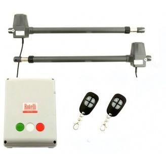 Комплект автоматики Rotelli MT 600 ECO для розпашних воріт