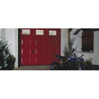 Гаражні секційні ворота KRUZIK Safe 2500х2500 мм