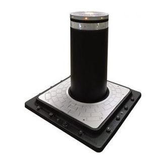 Дорожный блокиратор FAAC J355 M30-P1 HA выдвижной 570x690x1665 мм темно-серый металлик