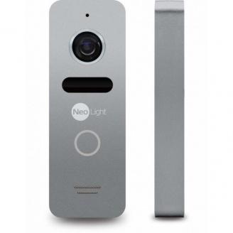 Виклична панель Neolight Solo Silver 48x133x15,5 мм