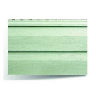 Виниловый сайдинг Альта-Профиль Альта-Сайдинг Ангара серо-зеленый