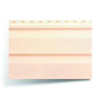Вініловий сайдинг Альта-Профіль Альта-Сайдинг Ангара рожевий