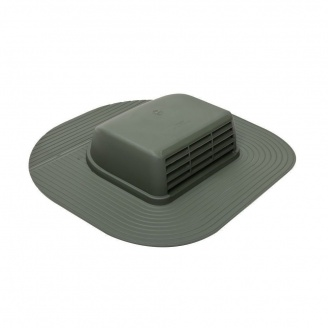 Кровельный вентиль VILPE HUOPA-KTV/HARJA 429х439 мм зеленый
