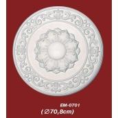 Потолочная розетка Vip Decor EM-0701