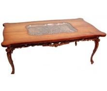 Дерев'яний столик Гюмрі СЖ-16 різьблений 145х80х56 см