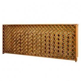 Декоративная решетка для радиатора отопления Гюмри из сосны
