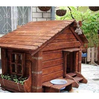 Будка Гюмрі Мажор Б-05 для собаки 100х120х130 см