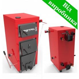 Твердотопливный котел РЕТРА-5М 10 кВт 750х570х1015 мм