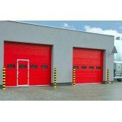Секційні гаражні ворота 40 мм