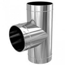 Трійник Termico Termo нерж/оц 87 градусів 1 мм 180 мм