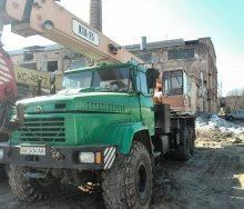 Оренда автокрана КТА-25 технічні і вантажопідйомні характеристики