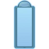 Композитний басейн Блакитна Лагуна Одеса 8 8х3х1,5 м