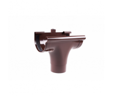 Воронка прохідна Profil 90/75 мм коричнева
