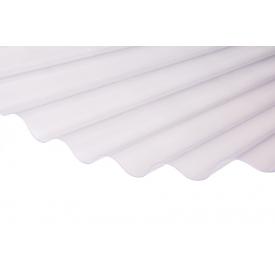 Лист Salux W HR 76/18 1.8х0.90, прозора хвиля