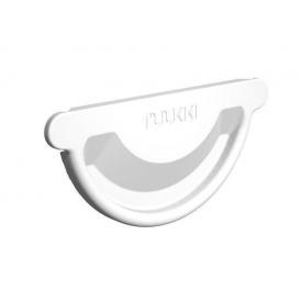 Заглушка ринви Ruukki Combi 125 мм білий