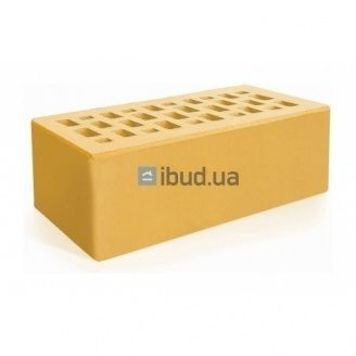 Кирпич лицевой Евротон утолщенный 250х120х88 мм желтый
