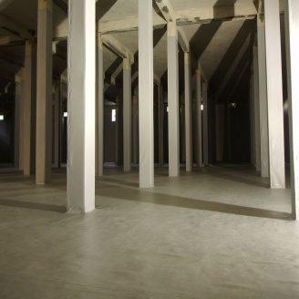 Гидроизоляция мембраной пвх подземного пожарного резервуара