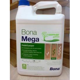 Устойчивый лак для паркета Bona Mega 5 л матовый