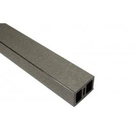 Поперечка огорожі HOLZDORF Кантрі з ДПК 35х50х4000 мм графіт