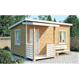 Садовый домик на дачу 5х3 м с крыльцом